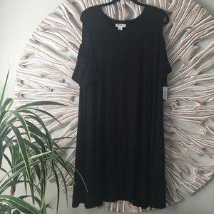 Style & Co Cold Shoulder Dress